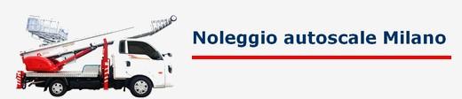 Noleggio autoscale Milano da 250